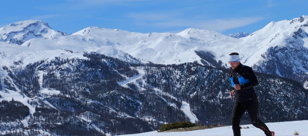 Serre Chevalier Snow Trail